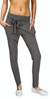 spodnie haremki alladynki kolor szary
