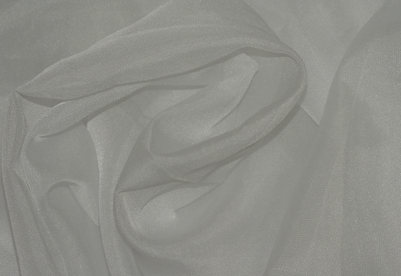Biały Woal Gładki Na Zasłony I Firany Wysokość 300cm