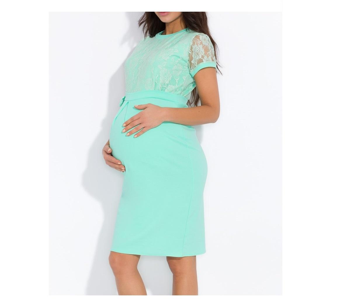 a4784bc894 Elegancka sukienka z koronką (ciążowa) NOWA KOLEKCJA
