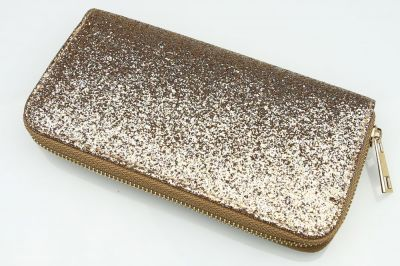 Portfel GLITTER Simple Gold PW51Z