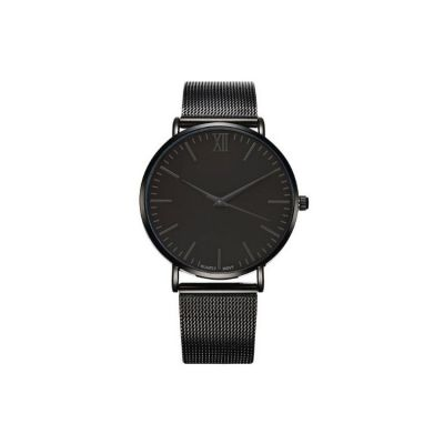 ZEGAREK DAMSKI NA PASKU SIMPLE BLACK Z655