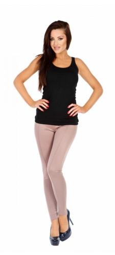spodnie damskie kolor capuccino